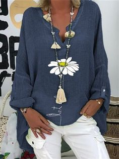 Shirts & Tops, Shirt Blouses, Blusas Oversized, Blouse Fleurie, Purple Blush, Mode Jeans, Basic Tops, Plus Size Blouses, V Neck Tops
