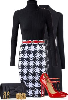 A fashion look from January 2013 featuring Derek Lam sweaters, Burberry coats and Christian Louboutin pumps. Browse and shop related looks. Work Fashion, Modest Fashion, Fashion Looks, Fashion Outfits, Womens Fashion, Curvy Fashion, Fashion Tips, Fashion Trends, Classy Outfits