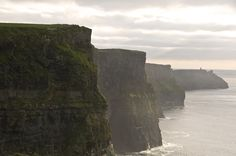 Irish Cliffs... God I'd love to visit!