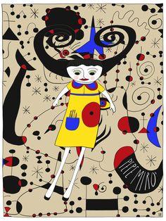 Illustration of Pepe #Mirò by Monica Brini