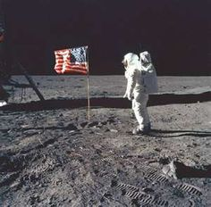 Neil Armstrong- 1st man to walk on the moon.