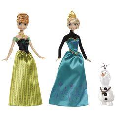 Llévate a Anna, Elsa y Olaf y recrea todas las escenas mágicas de la película.