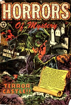 Comic Book Cover For The Horrors #13