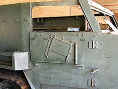 Detail of M9A1 Half-track.