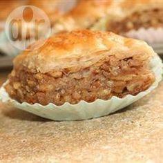Foto de la receta: Pastelillo de hojaldre y nueces (baklava)