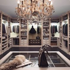 Explore the best of luxury closet design in a selection curated by Boca do Lobo to inspire interior designers looking to finish their projects. Discover unique walk-in closet setups by the best furniture makers out there Walk In Closet Design, Closet Designs, Master Closet, Closet Bedroom, Master Bedroom, Fancy Bedroom, Closet Space, Shoe Closet, Glam Closet