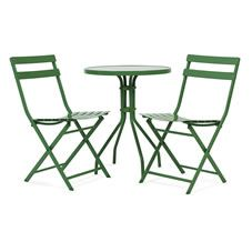 garden chair covers wilko swivel rpa 8 best furniture images lawn steel slatted bistro set green rattan chairsoutdoor