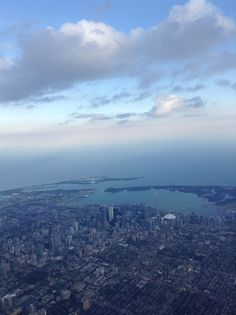 Flying into Toronto. Where The Heart Is, Airplane View, Toronto, Places, Travel, Life, Viajes, Destinations, Traveling