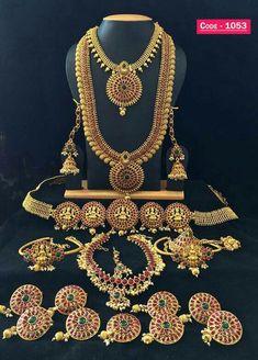 #imitation #jewellery #full #bridal #set #south #indian #style #bridal #set antique #designer #gold #plated #bridal #set #shop #online #bridal #set #reseller #welcomey Wedding Jewellery Designs, Gold Jewellery Design, Wedding Jewelry Sets, Jewellery 2017, Jewellery Sale, Diamond Jewellery, South Indian Bride Jewellery, Indian Bridal Jewelry Sets, Bridal Jewellery