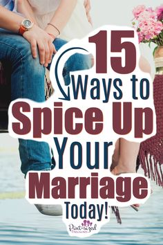 Every marriage needs more romance.more fun.and MORE spice! Learn how to spice up your marriage with these 15 simple ideas that will give you a more spicy, romantic marriage TODAY! A must-read fro every wife who wants a more exciting marriage! Spice Up Marriage, Marriage Romance, Marriage Goals, Healthy Marriage, Saving Your Marriage, Strong Marriage, Save My Marriage, Marriage Relationship, Happy Marriage