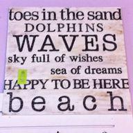 The Beach ...