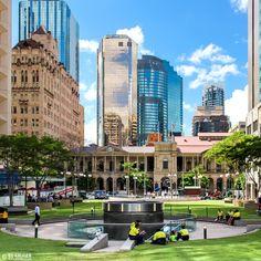 Good place in Brisbane, Australia. Brisbane Cbd, Brisbane Queensland, Queensland Australia, Brisbane Gold Coast, Pacific City, World Cities, Sunshine State, Wonderful Places, Travel Pictures