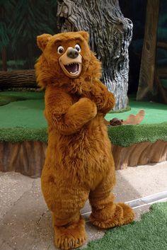 Kenai, Disney park character