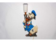 Donald Duck lamp, 50-60s. www.hellans.no