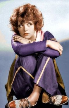 Clara Bow   -WAMPAS Baby Star 1924.  Clara Gordon Bow, destined to become THE flapper of the 1920's, was born and raised in poverty in Brooklyn, New York, on July 29, 1905. Her family was also beset with violence.  She won a photo beauty contest which launched her movie career that would eventually number 58 films, from 1922 to 1933.