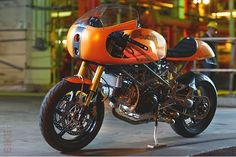 RedMax Ducati Monster 900 Cafe Racer  c/o Zephyr Motorcycle Conpany