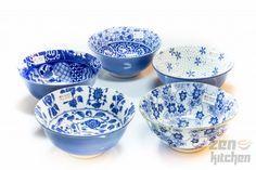 Tokyo Design Studio Bowls Tayo Blue (5-Set)