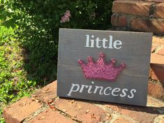 MADE TO ORDER Little Gentleman or Little Princess String Art