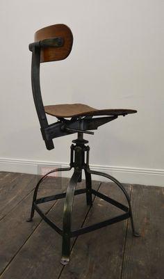 Ancienne chaise Bienaise Stool, Sweet Home, Industrial, Furniture, Vintage, Ideas, Home Decor, Home, Chair