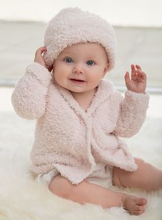 <p>This adorable pairing is the perfect layer for keeping your baby cozy.</p>