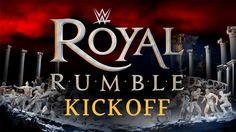 Don't miss the 2016 WWE #RoyalRumble Kickoff Show at 7e/4p, presented by Chex Mix!