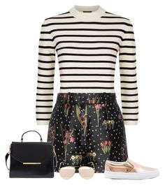 Untitled #3418 by elia72 on Polyvore featuring polyvore, fashion, style, Theory, RED Valentino, Vans, Ted Baker, Christian Dior and clothing #elia72