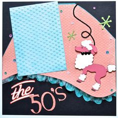 Papers are Seaside collection from CTMH.  Available from ScrappyHorses.ctmh.com  Cricut Nifty Fifties