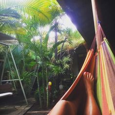 Last hammock activity for a while  #hometime by @georgieeats
