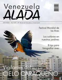Venezuela Alada  Revista para la clase de Diseño Gráfico III, 6to semestre de Artes mención Diseño Gráfico de la Universidad Arturo Michelena.