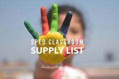 Special education classroom supply list: Ten items you need to set up your sped classroom and how I use them in my classroom special-education-classroom-supply-list Social Skills Games, Teaching Social Skills, Teaching Resources, Life Skills Classroom, Classroom Supplies, Classroom Setup, Art Supplies, Early Intervention Program, Book Bins