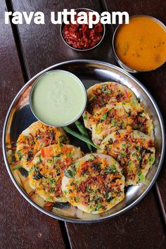 rava uttapam recipe, instant suji uttapam recipe, sooji uttapam with step by step photo/video. south indian dosa variety with semolina, vegetable toppings. Uttapam Recipe, Chaat Recipe, Biryani Recipe, Manchurian Recipe, Veg Recipes, Spicy Recipes, Vegetarian Recipes, Cooking Recipes, Healthy Recipes