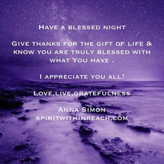Have a blessed night