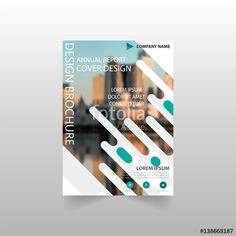Vetor: Brochure / Vector modern brochure / Annual report / Design templates