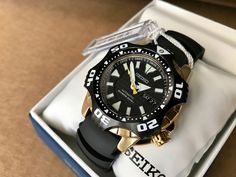 Seiko Starfish Monster SKZ286K1 Superior Automatic Watch Men's Diver 200m   eBay