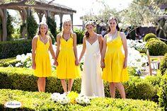 Yellow Bridesmaid Dresses!