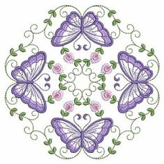 Butterfly Fancy Block 8 - 3 Sizes! | What's New | Machine Embroidery Designs | SWAKembroidery.com Ace Points Embroidery