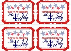 FREE July 4th Party Printables from 9 to 5 Mom