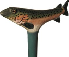 Novelty Wooden Walking Stick - Accessories - Alexander James - English Country Clothing