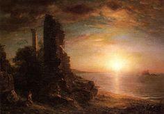 Landscape in Greece by Frederic Edwin Church (1873)
