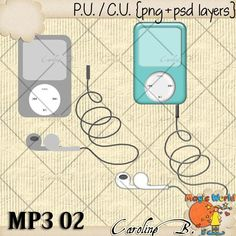 "#Caroline B. - CU MP3 02 Template This product incudes :  - 2 PNG file  - 2 PSD layered template, grey scale, 300dpi, you can apply styles, papers, easily change colors, etc...   - My CU Term Of Use (TOU)    Choose your licence : ""With Credit Required"" (Regular Commercial Use) or ""With No Credit Required"" (Additional $).    This is NOT a CU4CU item. http://www.carolineb-design.com/index.php?main_page=product_info&products_id=847"