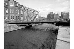 Edinburgh, Leith Docks, East Old Dock, Rennie's Entrance, Lock And Swing Bridge | ScotlandsPlaces