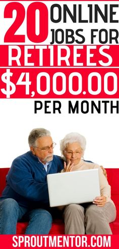 Are you a retiree or senior citizen looking for ways to make extra money every month? Here are 20 online jobs and ways to make money from home for retirees & seniors #SENIORS #seniorcitizen #jobsforseniorcitizen #onlinejobsforseniorcitizens #onlinejobsforretirees #retirees #retirement #retirementplanning #jobsforretirees #onlinejobs #workfromhome #workathome #workfromhomejob #makemoneyonline #workathomejobs #Sidehustles