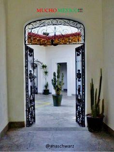 Cuesta más caro el caldo que las albóndigas... Refrán Mexicano / Patio y nopal, Oaxaca