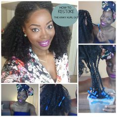how to refresh the kinky kurl out unit by fingercomber kinky curly wig