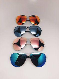 http://www.styleyourwear.com/category/quay-sunglasses/ QUAY X AMANDA STEELE (MUSE) $59.99 http://www.thesterlingsilver.com/product/ray-ban-unisex-rb2027-predator-2-sunglassesblack-framegreen-lens62-mm/