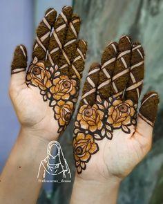 Henna Art Designs, Mehndi Design Photos, Beautiful Mehndi Design, Dulhan Mehndi Designs, Simple Mehndi Designs, Mehndi Designs For Hands, Mehandi Designs, Mehendi, Latest Bridal Mehndi Designs