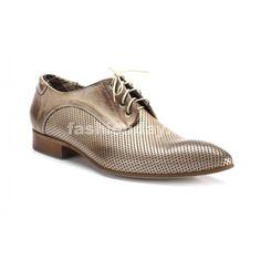 Pánske kožené svetlo hnedé spoločenské topánky COMODO E SANO - fashionday.eu ecfadc589a6