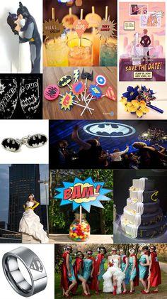 Caped Crusaders: Superhero Wedding Inspiration