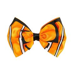 Disney Finding Nemo Cosplay Hair Bow Hot Topic ($6.80) ❤ liked on Polyvore featuring accessories, hair accessories, hair bow accessories, disney hair bows, disney hair accessories and disney