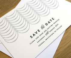 COCO // save the date // x 50 by twoforjoypaper on Etsy, $87.50